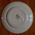 Assiettes Longwy service Bagatelle