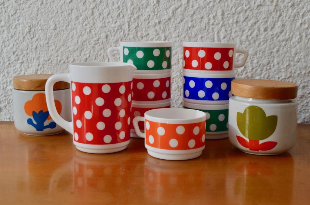 Service à thé ou café Arcopal