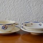 Service de vaisselle ancienne Félicia