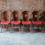 Chaises Gentiane de Baumann