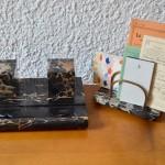 Porte-lettres & encrier Karl