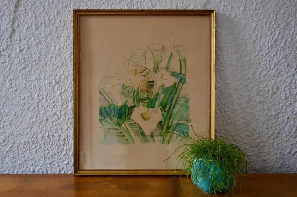Les Arums de Raoul Dufy