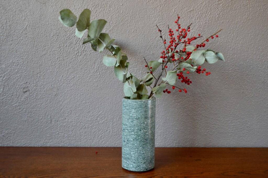 Vase cylindrique en granit
