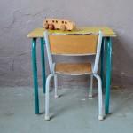 """Pupitre et chaise d'école """"Canari"""""""