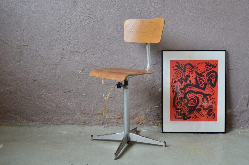 Chaise d'atelier Agathe
