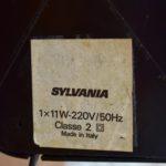 Lampe italienne Sylvania