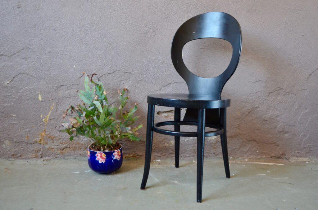 Chaises Baumann Mouette années 60 chaises de café bistrot bois courbé