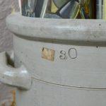 Pot en grès ancien 30L