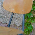 Chaises industrielles Sylvaine
