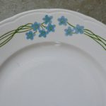 Service de vaisselle Souvenir de Sarreguemines
