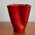 Vase Mouchoir Elchinger rouge