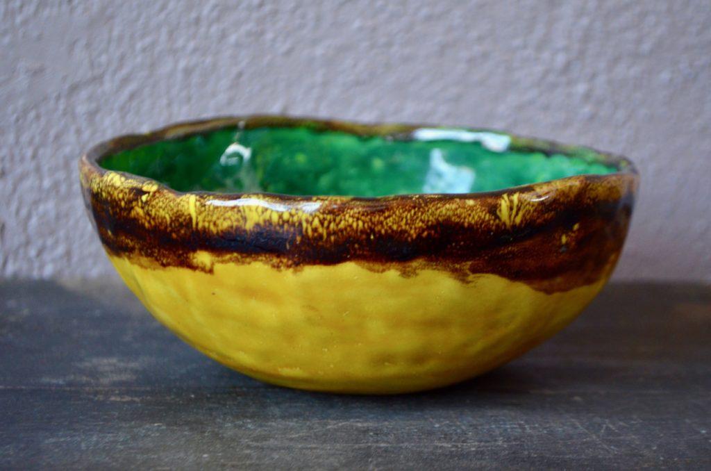 Coupe en céramique Krivitzky
