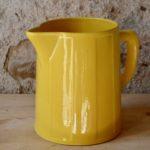 Pichet jaune Saint Clément