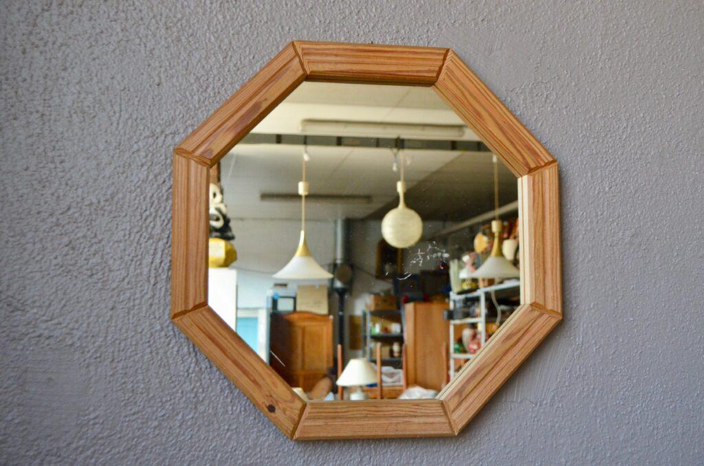 Miroir en pin Jean