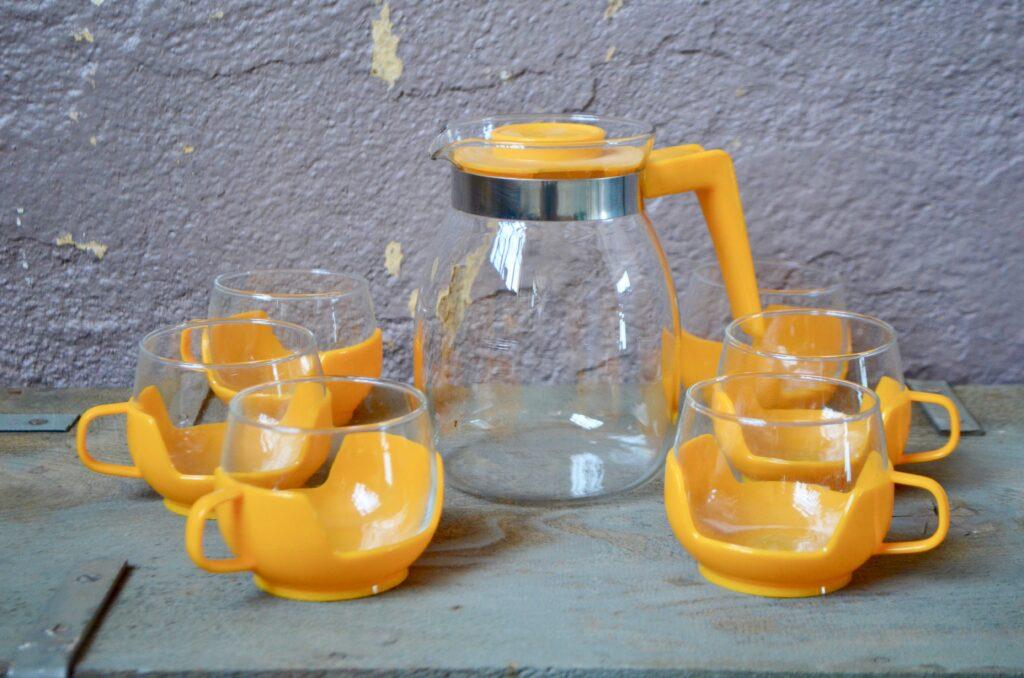 Service à thé Jaurèle