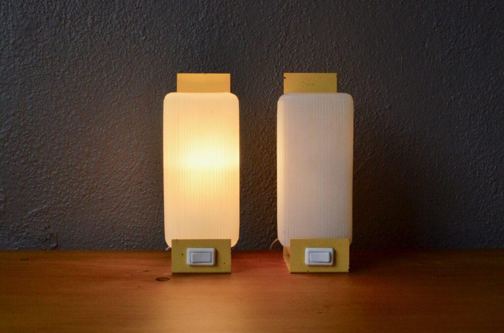 Paire de lampes de chevet Paulina
