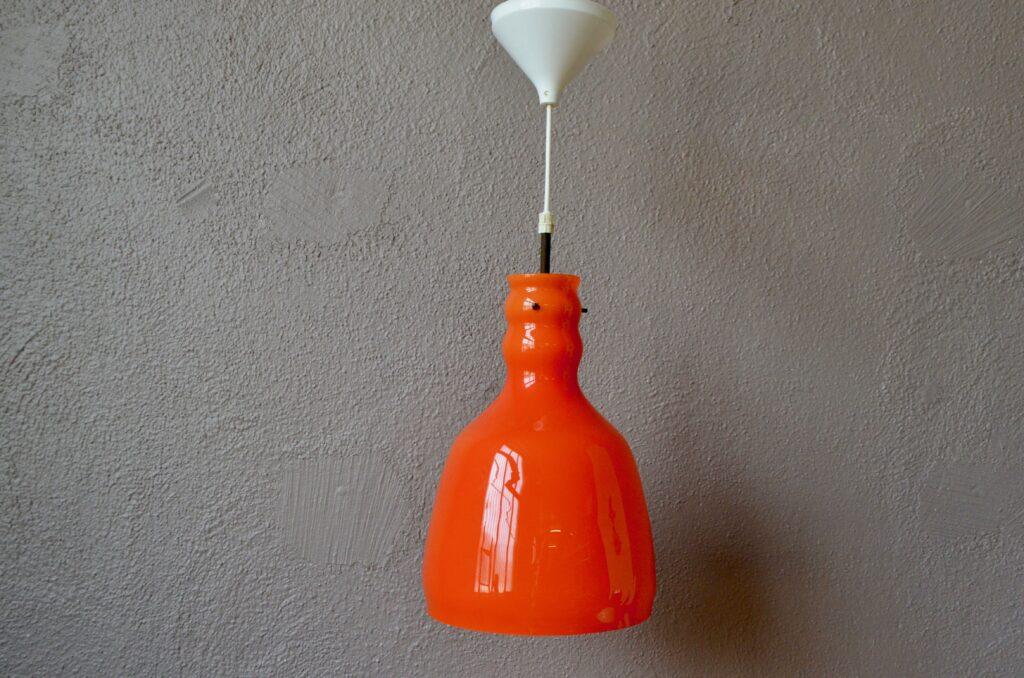 Plafonnier orange