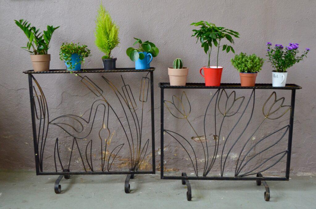 Claustra-jardinière Art Déco