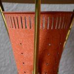 Paire de lampe de table tripode design moderniste midcentury