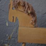 Cheval à bascule Comanche