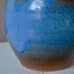 Vase bleu Roy