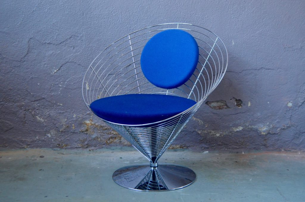 Wire Cone Chair de Verner Panton