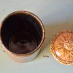 Pot couvert aux fougères Accolay