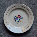 Assiettes aux fleurs St Amand