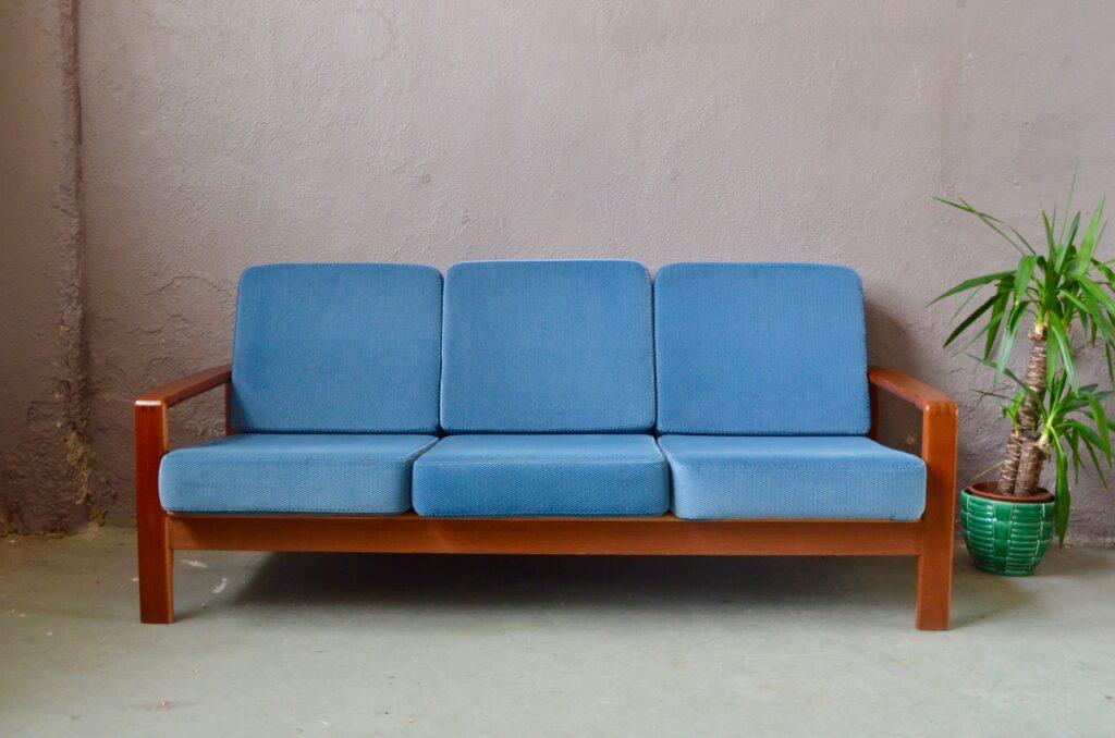 Canapé en teck Nils