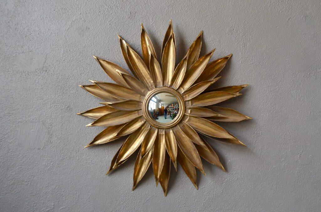 Miroir soleil en métal Icare