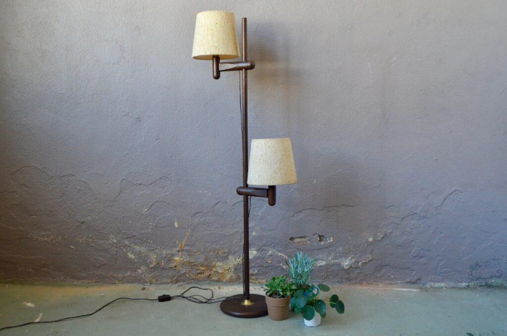 Lampadaire ajustable Temde Leuchten