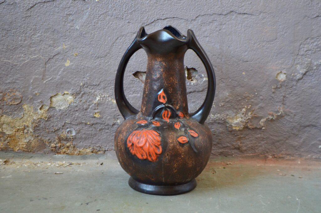 Grand vase aux fleurs
