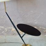 Lampe lampadaire ou liseuse travail français design moderniste midcentury