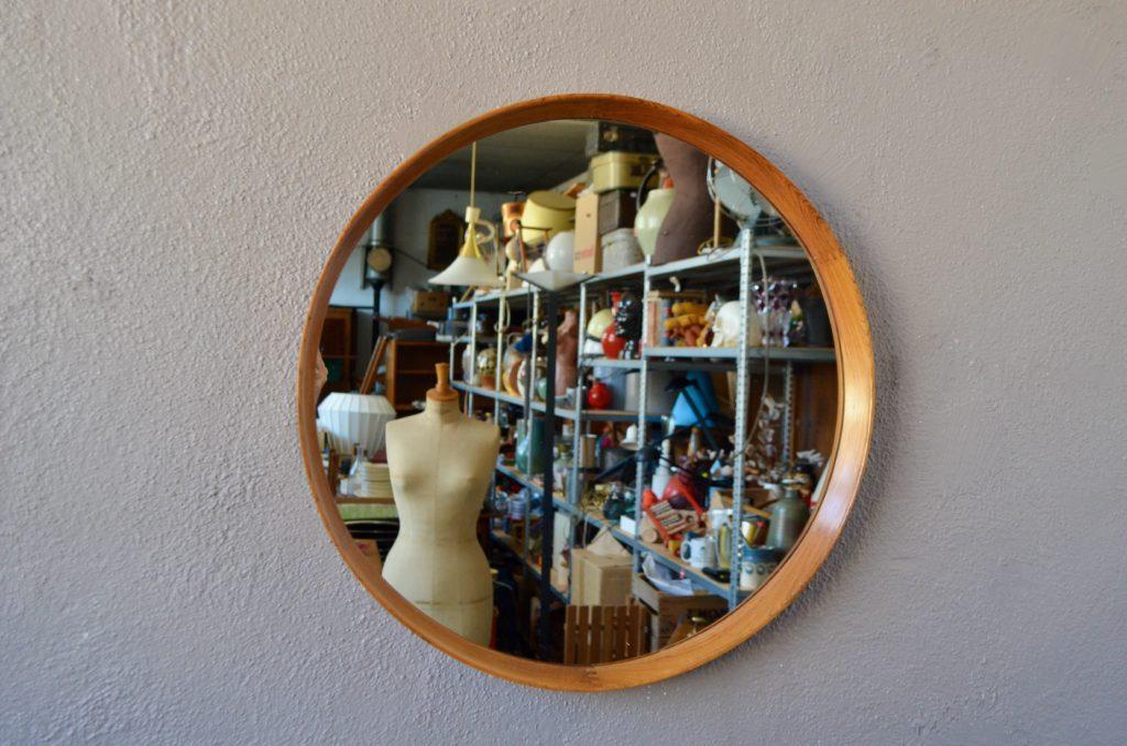 Miroir en Teck de Uno & Östen Kristiansson