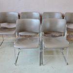Chaises 40/4 de David Rowland