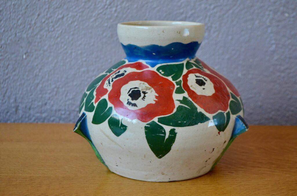 Vase aux fleurs de Betzy Augeron