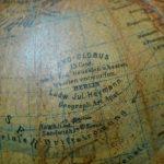 Globe terrestre Ludwig Julius Heymann