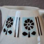 Pichet broc à eau rétro années 60 vaisselle ancienne bohème