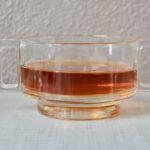 Set ou lot de 6 bols vintage en verre design modernisme italien
