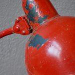 Lampe de bureau Bauhaus métal indus années 30 atelier Kaiser Dell Christian Dell