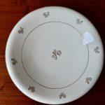 Service de vaisselle ancien bohème vintage porcelaine Badonviller