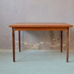 Table vintage en teck design scandinave vintage rétro seventies