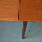 Table vintage en teck design scandinave années 70 vintage rétro seventies