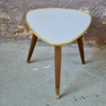 Petite table tripode porte-plantes vintage retro table de nuit chevet déco