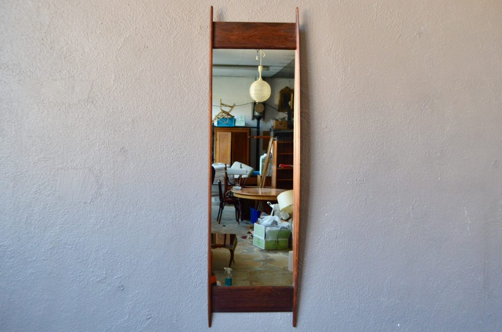 Miroir en palissandre Glas & Trä Hovmantorp