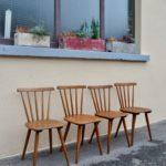 Série chaises Pavine