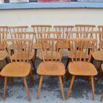 Série de 10 chaises Pavine
