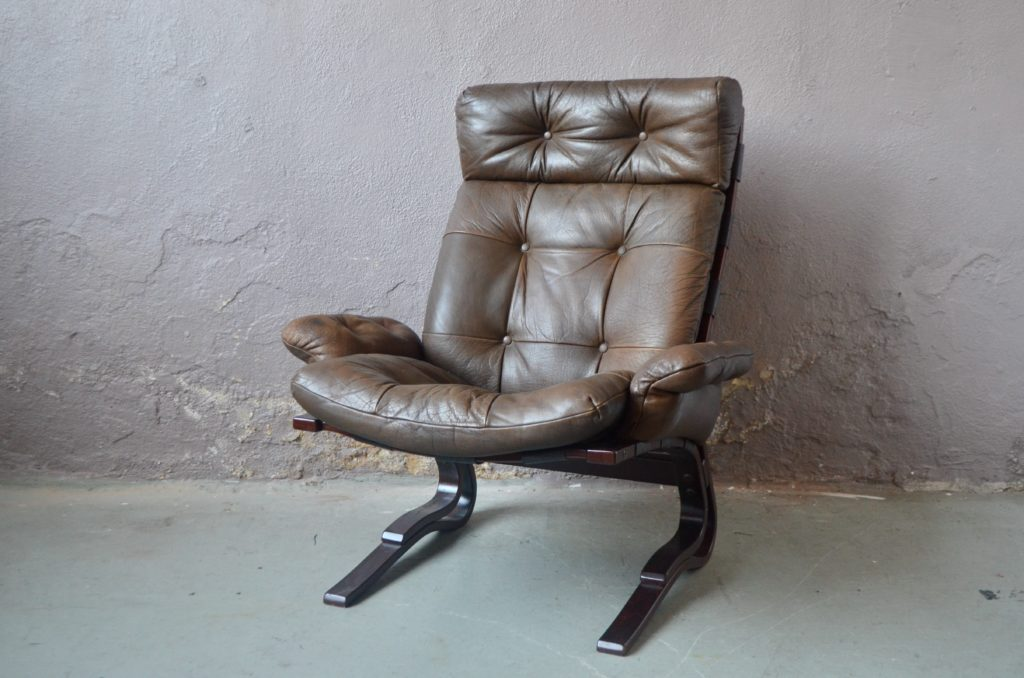 Fauteuil scandinave Harald