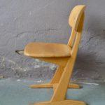 Chaise de bureau adulte Casala design Vintage scandinave lot série
