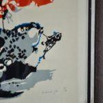 Lithographie de Maurice Pré